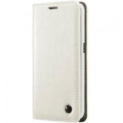 """""""CaseMe"""" solidus atverčiamas dėklas - baltas (Galaxy S6 Edge+)"""