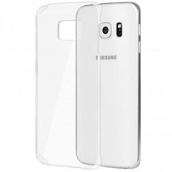 Plastikinis dėklas - skaidrus (Galaxy S6 Edge+)