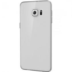 Ploniausias TPU skaidrus dėklas - pilkas (Galaxy S6 Edge+)