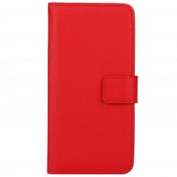 Atverčiamas dėklas - raudonas (Galaxy S6 Edge)