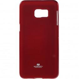 """""""Mercury"""" dėklas - raudonas (Galaxy S6 Edge+)"""