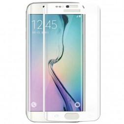 """3D"" Tempered Glass apsauginis ekrano stiklas 0.33 mm - baltas (Galaxy S6 Edge)"
