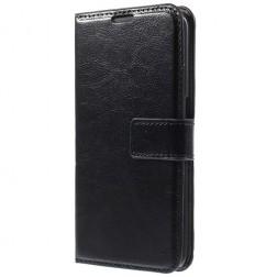 Atverčiamas dėklas - juodas (Galaxy S6 Edge+)