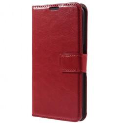 Atverčiamas dėklas - raudonas (Galaxy S6 Edge+)