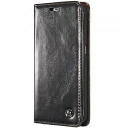 """""""CaseMe"""" solidus atverčiamas dėklas - juodas (Galaxy S6 Edge+)"""