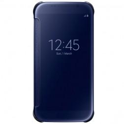 """Samsung"" Clear View Cover atverčiamas dėklas - mėlynas (Galaxy S6)"
