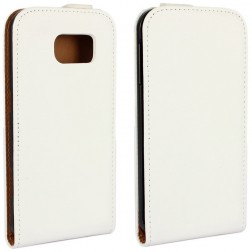 Klasikinis atverčiamas dėklas - baltas (Galaxy S6)