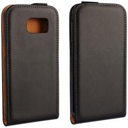 Klasikinis atverčiamas dėklas - juodas (Galaxy S6)