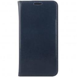 Solidus atverčiamas odinis dėklas - mėlynas (Galaxy S6)