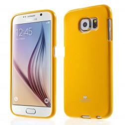 """""""Mercury"""" dėklas - geltonas (Galaxy S6)"""
