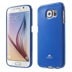 """""""Mercury"""" dėklas - tamsiai mėlynas (Galaxy S6)"""