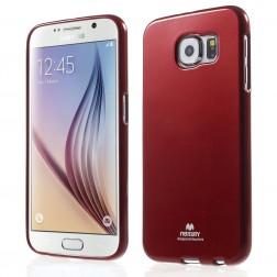 """""""Mercury"""" dėklas - raudonas (Galaxy S6)"""