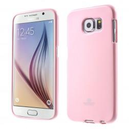 """""""Mercury"""" dėklas - šviesiai rožinis (Galaxy S6)"""