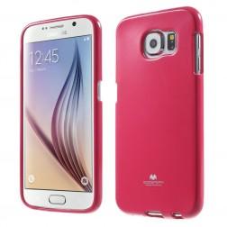 """""""Mercury"""" dėklas - tamsiai rožinis (Galaxy S6)"""