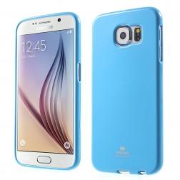 """""""Mercury"""" dėklas - šviesiai mėlynas (Galaxy S6)"""