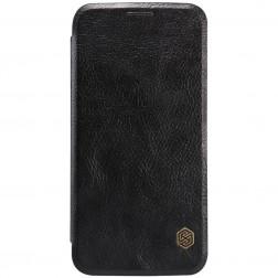 """""""Nillkin"""" Qin atverčiamas dėklas - juodas (Galaxy S6)"""