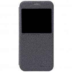 """""""Nillkin"""" Sparkle atverčiamas dėklas - pilkas (Galaxy S6)"""