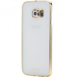 """""""ROCK"""" Neon dėklas - auksinis (Galaxy S6)"""