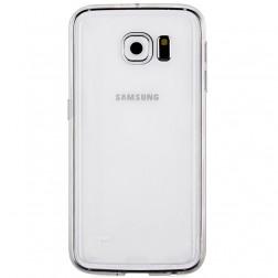 Kieto silikono (TPU) dėklas - skaidrus (Galaxy S6)