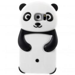 Žaismingas silikoninis dėklas - panda (Galaxy S6)