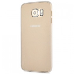 Ploniausias plastikinis dėklas - baltas (Galaxy S6)