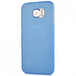 Ploniausias plastikinis dėklas - mėlynas (Galaxy S6)