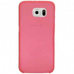 Ploniausias plastikinis dėklas - raudonas (Galaxy S6)