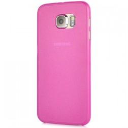 Ploniausias plastikinis dėklas - rožinis (Galaxy S6)