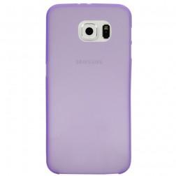 Ploniausias plastikinis dėklas - violetinis (Galaxy S6)