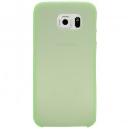 Ploniausias plastikinis dėklas - žalias (Galaxy S6)
