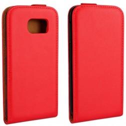 Klasikinis atverčiamas dėklas - raudonas (Galaxy S6)