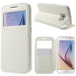 """""""Roar"""" Noble atverčiamas dėklas - baltas (Galaxy S6)"""