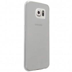 Ploniausias TPU dėklas - skaidrus, pilkas (Galaxy S6)