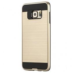 Sustiprintos apsaugos dėklas - auksinis (Galaxy S6)