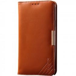 """""""Kalaideng"""" Royale atverčiamas dėklas - rudas (Galaxy S6 Edge)"""