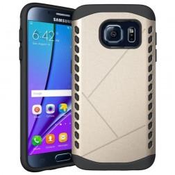 Sustiprintos apsaugos dėklas - auksinis (Galaxy S7)