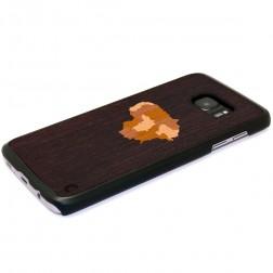 """""""Crafted Cover"""" natūralaus medžio dėklas - Lietuva (Galaxy S7)"""