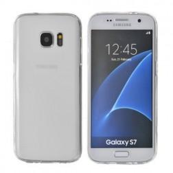 Pilnai dengiantis TPU dėklas - skaidrus (Galaxy S7)
