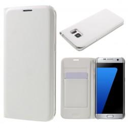 """""""Smart Wallet"""" atverčiamas dėklas - baltas (Galaxy S7 Edge)"""