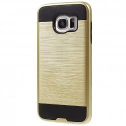 Sustiprintos apsaugos dėklas - auksinis (Galaxy S7 edge)