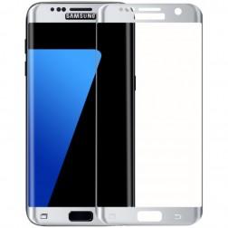 """""""Amorus"""" Tempered Glass apsauginis ekrano stiklas 0.22 mm - sidabrinis (Galaxy S7 Edge)"""