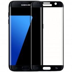 """""""Mofi"""" Tempered Glass apsauginis ekrano stiklas 0.22 mm - juodas (Galaxy S7 Edge)"""