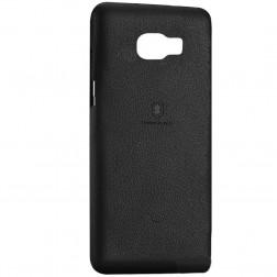 """""""Lenuo"""" Soft Slim dėklas - juodas (Galaxy S7 Edge)"""
