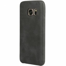 """USAMS"" Slim Leather dėklas - juodas (Galaxy S7)"