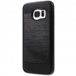 Sustiprintos apsaugos dėklas - juodas (Galaxy S7 edge)