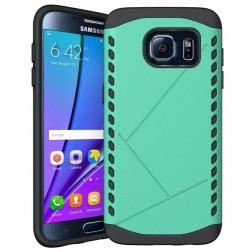 Sustiprintos apsaugos dėklas - mėtinis (Galaxy S7 edge)
