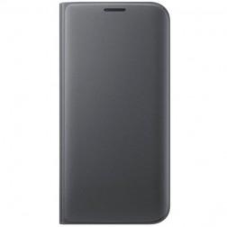 """""""Samsung"""" Flip Wallet Cover atverčiamas dėklas - juodas (Galaxy S7 Edge)"""