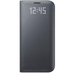"""""""Samsung"""" Led View Cover atverčiamas dėklas - juodas (Galaxy S7 Edge)"""
