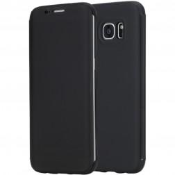 """Atverčiamas """"Rock"""" Dr. V dėklas - juodas (Galaxy S7 Edge)"""