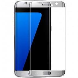 """3D Rewan"" Tempered Glass apsauginis ekrano stiklas 0.26 mm - sidabrinis (Galaxy S7 Edge)"
